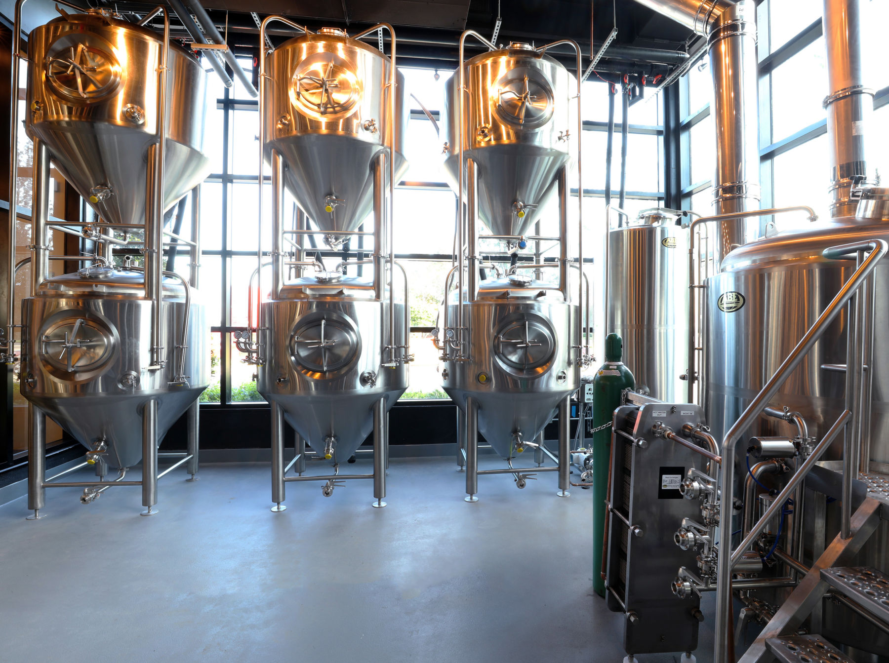 Brewery interior