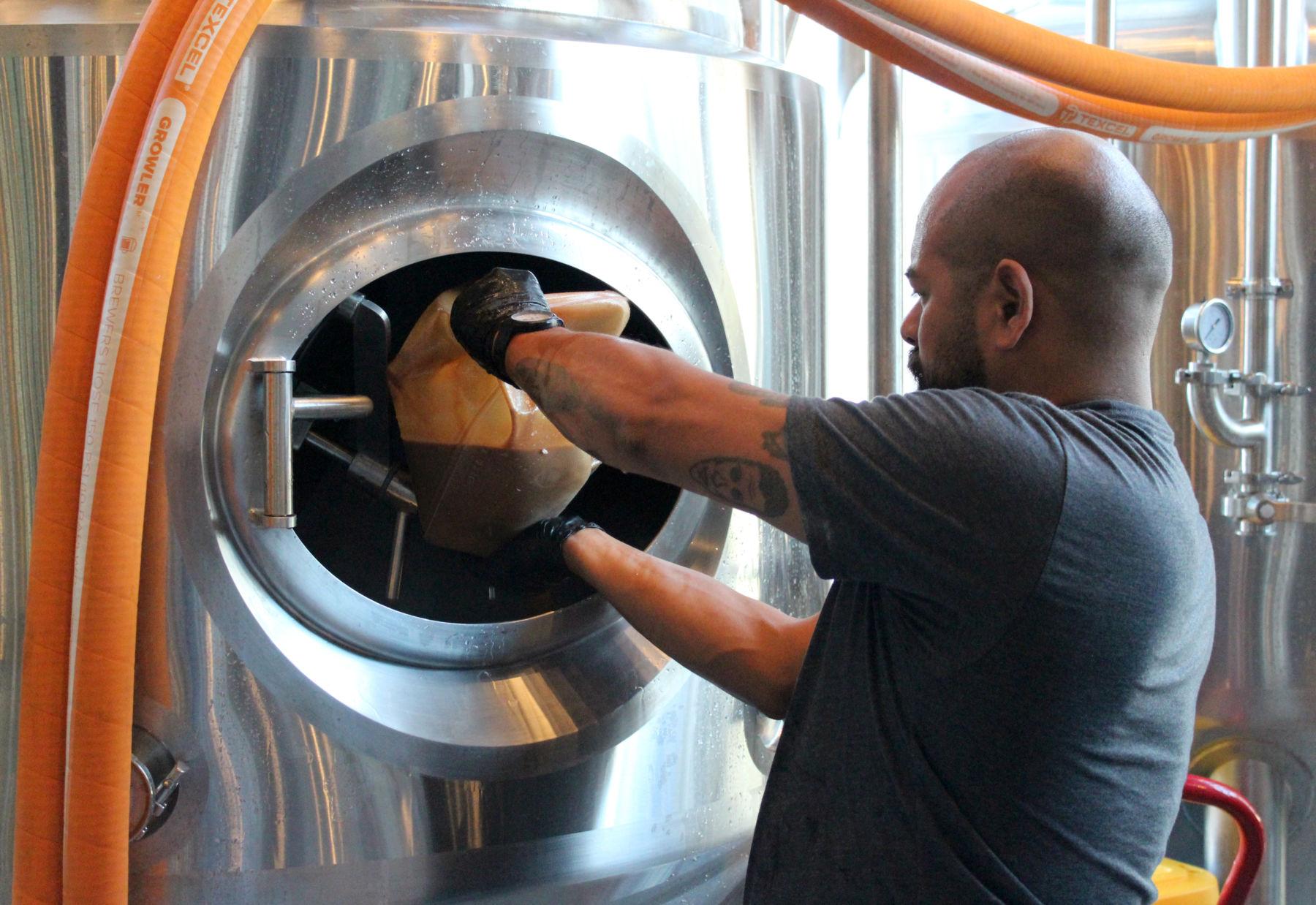 Head Brewer candid