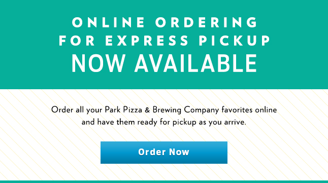 Park Pizza Online Ordering now available